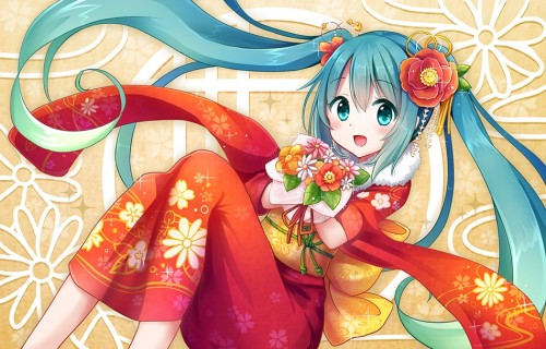 二次 微エロ ゲーム ボーカロイド 初音ミク 萌え 天使 桜ミク ただでさえ天使のミクが かわいい 桜ミク 雪ミク ボトルミク ツインテール 青緑髪 緑髪 いちご白無垢 二次非エロ画像 hatsunemiku2015011821
