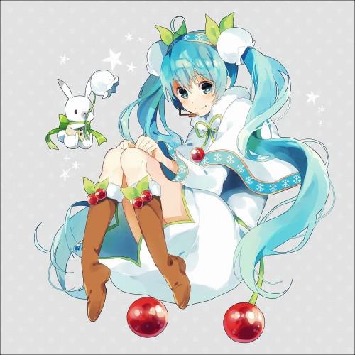 二次 微エロ ゲーム ボーカロイド 初音ミク 萌え 天使 桜ミク ただでさえ天使のミクが かわいい 桜ミク 雪ミク ボトルミク ツインテール 青緑髪 緑髪 いちご白無垢 二次非エロ画像 hatsunemiku2015011827