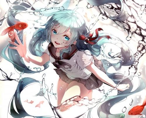 二次 微エロ ゲーム ボーカロイド 初音ミク 萌え 天使 桜ミク ただでさえ天使のミクが かわいい 桜ミク 雪ミク ボトルミク ツインテール 青緑髪 緑髪 いちご白無垢 二次非エロ画像 hatsunemiku2015011834