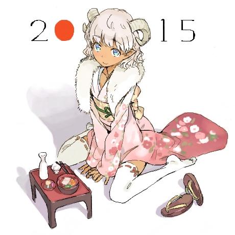 二次 エロ 萌え フェチ けもみみ 羊 着ぐるみ アニマルフード コスプレ モコモコ 2015 正月 干支 二次エロ画像 hitujimusume2015010433