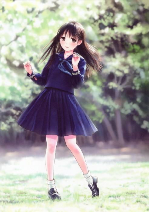 二次 エロ 萌え 黒髪 フェチ 漆黒 髪型 黒髪ロング 黒髪ショート 二次エロ画像 kurokami2015011727