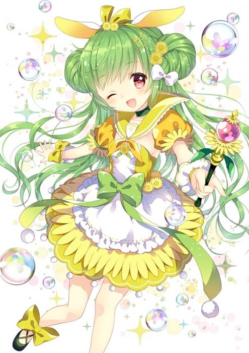 二次 エロ 萌え フェチ 緑髪 髪型 青緑 深緑 緑 黄緑 不人気 二次エロ画像 midorigami2015011429