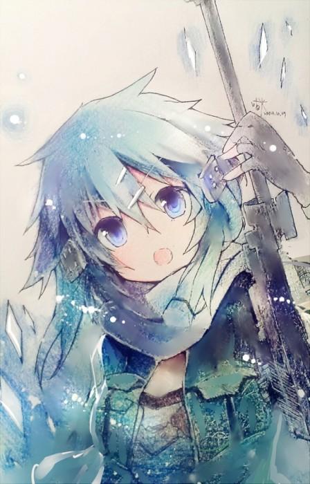 二次 エロ 萌え フェチ 青髪 水色 藍色 紺色 蒼 二次エロ画像 aogami2015021122