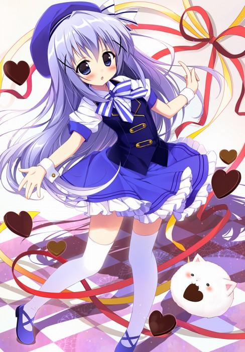 二次 エロ 萌え フェチ 青髪 水色 藍色 紺色 蒼 二次エロ画像 aogami2015021129
