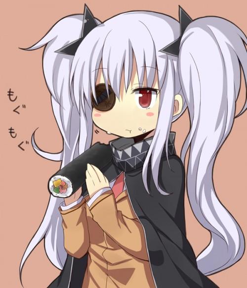 二次 非エロ 萌え フェチ 食べ物 思わせぶり 舐めてる 擬似フェラ 節分 冬 恵方巻き 二次微エロ画像 ehoumaki2015020419