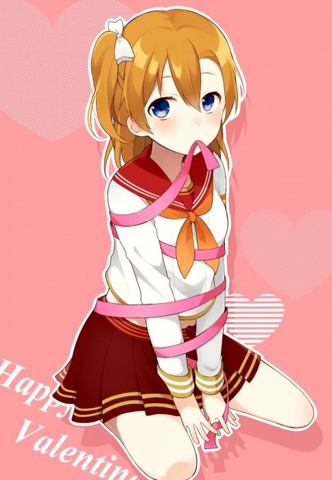 二次 エロ 萌え フェチ ハートマーク アクセサリー チョコレート 表情 目がハート ラブラブ 気持ち良い 二次エロ画像 heart2015022625
