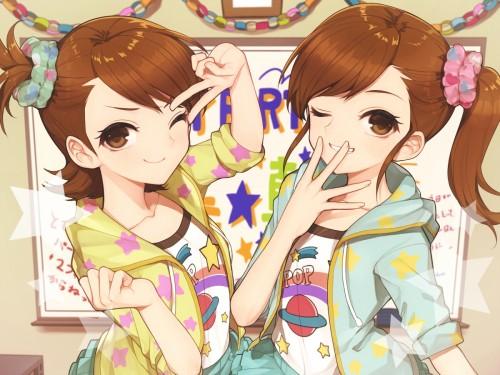 二次 エロ 萌え フェチ 双子 姉妹 一卵性双生児 二卵性双生児 二次エロ画像 hutago2015020846