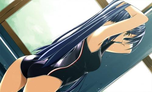 二次 エロ 競泳水着 ハイレグ ワンピース型 萌え フェチ 食い込み スポーツ少女 二次エロ画像 kyoueimizugi2015020742