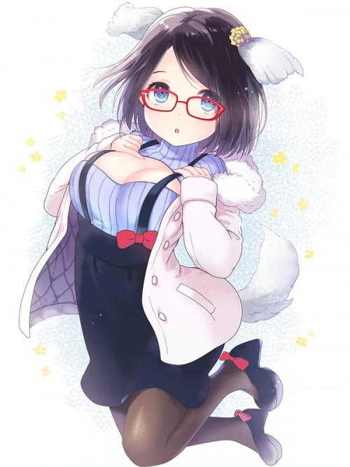 二次 エロ 萌え フェチ メガネ めがね 眼鏡 眼鏡っ娘 二次エロ画像 megane2015022507