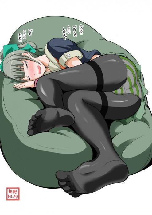 二次 エロ 萌え フェチ 体にフィットするソファ ダメ人間化 ソファ 人をダメにするソファ ビーズクッション 寝てる 寝顔 二次エロ画像 damenisurusofa2015033116