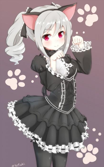 二次 エロ 萌え フェチ 銀髪・白髪 髪型 灰色 二次エロ画像 ginpatsuhakuhatsu2015030403