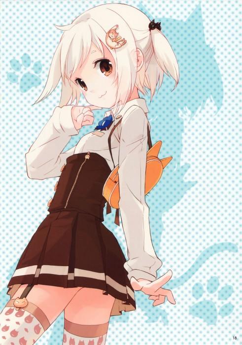 二次 エロ 萌え フェチ 銀髪・白髪 髪型 灰色 二次エロ画像 ginpatsuhakuhatsu2015030413