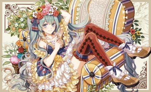 二次 微エロ ゲーム ボーカロイド 初音ミク 萌え 天使 桜ミク ただでさえ天使のミクが かわいい 桜ミク 雪ミク ボトルミク ツインテール 青緑髪 緑髪 いちご白無垢 二次非エロ画像 hatsunemiku2015031219
