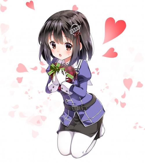 二次 エロ 萌え 黒髪 フェチ 漆黒 髪型 黒髪ロング 黒髪ショート 二次エロ画像 kurokami2015030523