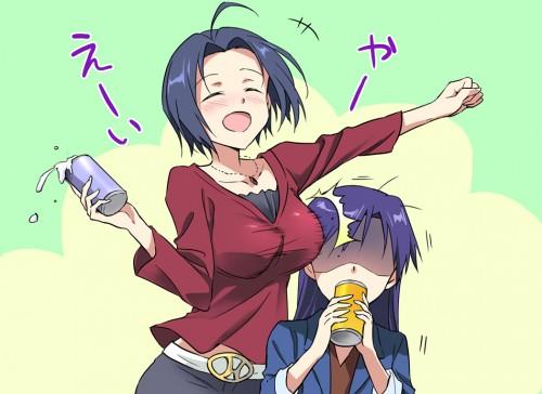二次 エロ 萌え フェチ おっぱい 巨乳 貧乳 乳比べ まな板 千早いじめ 龍驤いじめ RJいじめ いともたやすく行われるえげつない行為 胸囲の格差社会 不機嫌 表情 嫉妬 焼きもち 二次エロ画像  kyouikakusa2015032433