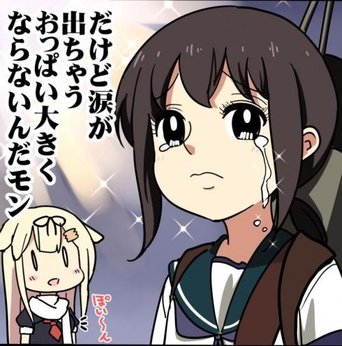二次 エロ 萌え フェチ おっぱい 巨乳 貧乳 乳比べ まな板 千早いじめ 龍驤いじめ RJいじめ いともたやすく行われるえげつない行為 胸囲の格差社会 不機嫌 表情 嫉妬 焼きもち 二次エロ画像  kyouikakusa2015032450