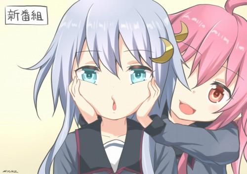 二次 エロ 萌え ゲーム 艦隊これくしょん 艦これ 擬人化 ロリ 弥生 薄紫髪 セーラー服 腹チラ 少女 ょぅι゛ょ 怒ってなんかないよ、怒ってなんか… 二次エロ画像 yayoikancolle2015030609
