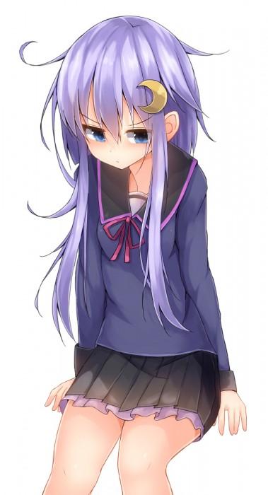 二次 エロ 萌え ゲーム 艦隊これくしょん 艦これ 擬人化 ロリ 弥生 薄紫髪 セーラー服 腹チラ 少女 ょぅι゛ょ 怒ってなんかないよ、怒ってなんか… 二次エロ画像 yayoikancolle2015030629