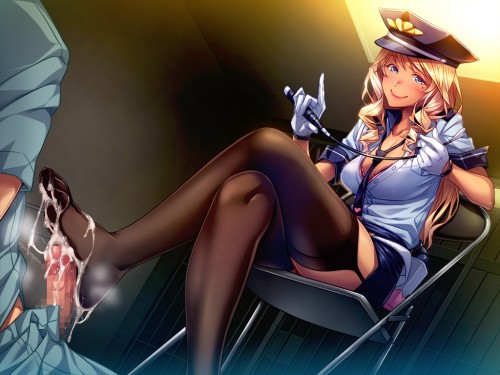二次 エロ 萌え フェチ プレイ 足コキ M男 S女 女王様 我々の業界ではご褒美です ドMホイホイ 二次エロ画像 ashikoki2015041820
