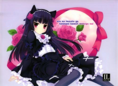 二次 エロ 萌え フェチ アニメ ラノベ 黒猫(五更瑠璃) 俺の妹がこんなに可愛いわけがない 黒髪 貧乳 ほくろ ゴスロリ 姫カット・前髪ぱっつん オタク †千葉(せんよう)の堕天聖† 二次エロ画像 gokouruikuroneko2015042349