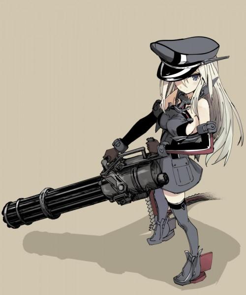二次 武器 フェチ 萌え 武器娘 非エロ 微エロ 武装少女 銃 軍人 ライフル マシンガン 鉄砲 大砲 RPG ピストル 拳銃 マスケット銃 水鉄砲 婦警 二次非エロ画像 gun2015042812