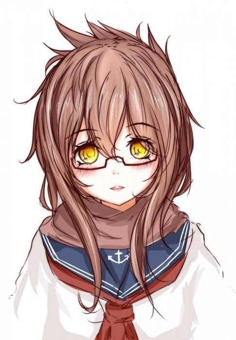 二次 非エロ 萌え フェチ メガネ めがね 眼鏡 眼鏡っ娘 二次微エロ画像 megane2015041432
