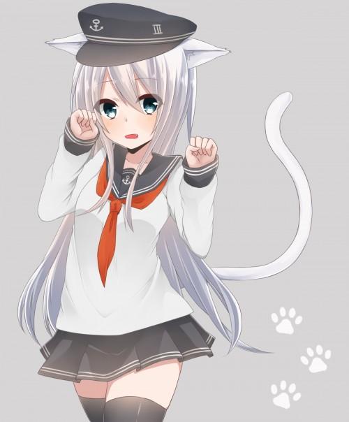 二次 エロ 萌え フェチ けもみみ ねこみみ 猫耳 ねこミミ ネコミミ 尻尾 しっぽ 付け耳 コスプレ 招き猫 四つん這い 犬 わん にゃん 仕草 二次エロ画像 nekonomane2015042103