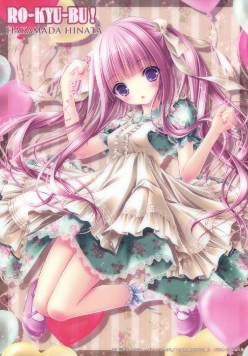 二次 エロ 萌え フェチ ピンク髪 髪型 赤紫 桃色 ピンク色の髪の毛をしたキャラクターは淫乱 淫乱ピンク 二次エロ画像 pinkgami2015043014