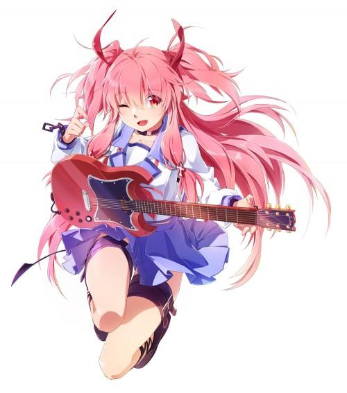 二次 エロ 萌え フェチ ピンク髪 髪型 赤紫 桃色 ピンク色の髪の毛をしたキャラクターは淫乱 淫乱ピンク 二次エロ画像 pinkgami2015043017