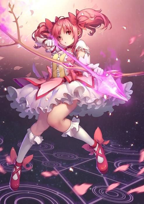 二次 エロ 萌え フェチ ピンク髪 髪型 赤紫 桃色 ピンク色の髪の毛をしたキャラクターは淫乱 淫乱ピンク 二次エロ画像 pinkgami2015043024