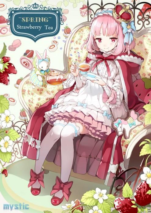 二次 エロ 萌え フェチ ピンク髪 髪型 赤紫 桃色 ピンク色の髪の毛をしたキャラクターは淫乱 淫乱ピンク 二次エロ画像 pinkgami2015043032