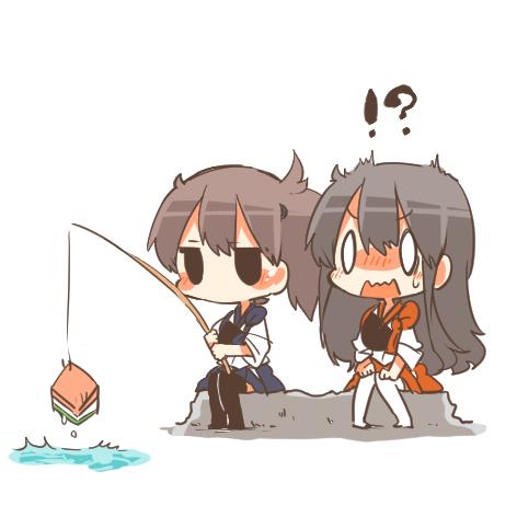 二次 非エロ 萌え 美少女風景 季節 海 川 湖 水着 釣り 釣り竿  釣りキチおばさん 二次非エロ画像 turi2015050113