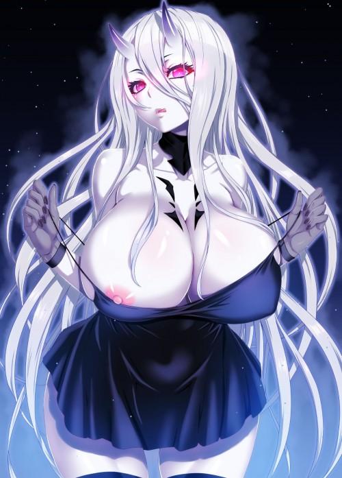 二次 エロ 萌え フェチ 銀髪・白髪 髪型 灰色 二次エロ画像 ginpatsu2015052718