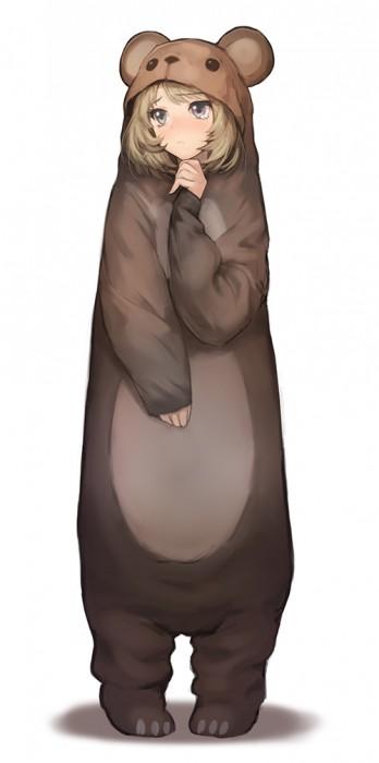 二次 非エロ 萌え フェチ 着ぐるみ 着ぐるみパジャマ コスプレ 二次非エロ画像 kigurumi2015050649