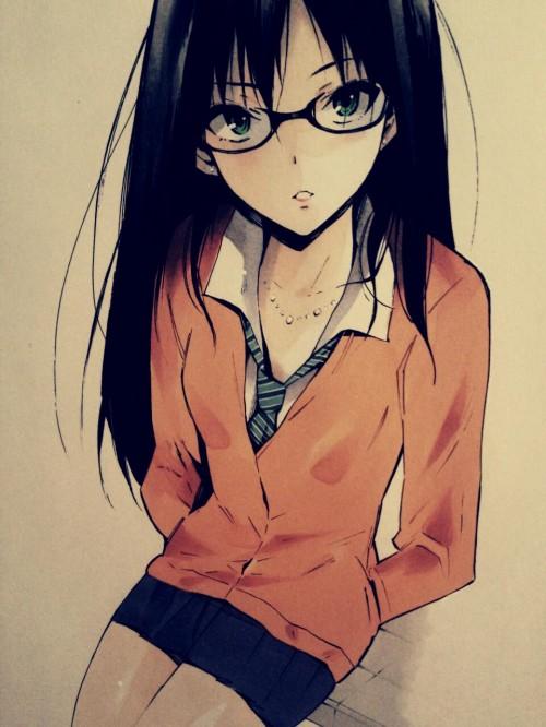 二次 エロ 萌え フェチ メガネ めがね 眼鏡 眼鏡っ娘 二次エロ画像 megane2015050923