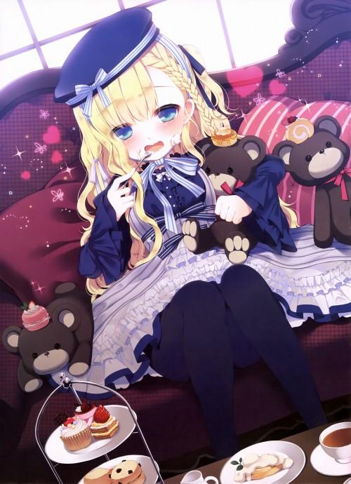 二次 萌え エロ フェチ 髪型 三つ編み おさげ 文学少女 二次エロ画像 mitsuami2015051725