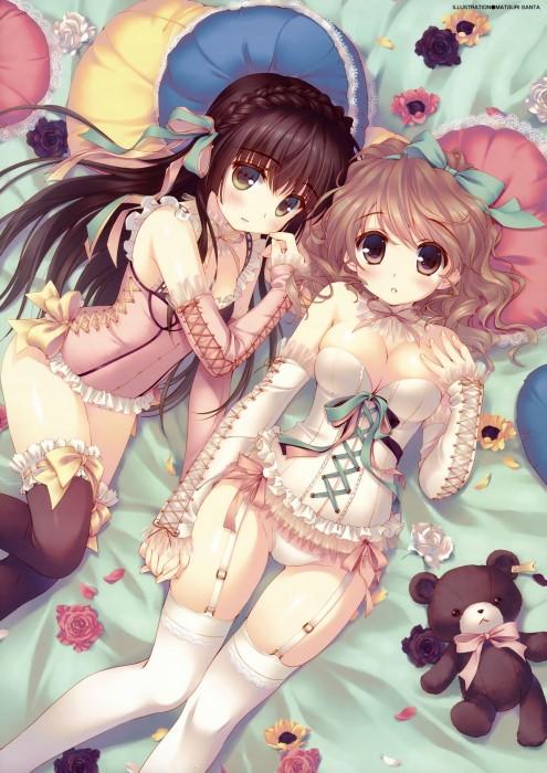 二次 萌え エロ フェチ 髪型 三つ編み おさげ 文学少女 二次エロ画像 mitsuami2015051728