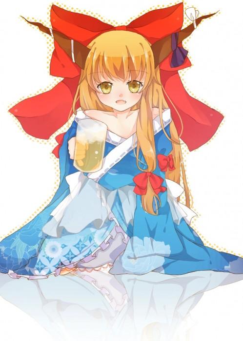 二次 非エロ 萌え フェチ お酒 ビール ジョッキ 缶ビール ディアンドル 酔っ払い 泥酔 二次微エロ画像 beer10020150627016