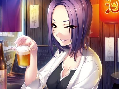 二次 非エロ 萌え フェチ お酒 ビール ジョッキ 缶ビール ディアンドル 酔っ払い 泥酔 二次微エロ画像 beer10020150627089