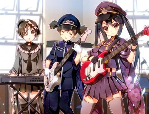 二次 非エロ 萌え 楽器 ヘッドフォン ギター 二次非エロ画像 guitar2015060903