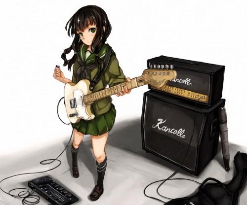 二次 非エロ 萌え 楽器 ヘッドフォン ギター 二次非エロ画像 guitar2015060906
