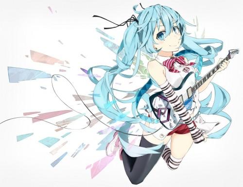 二次 非エロ 萌え 楽器 ヘッドフォン ギター 二次非エロ画像 guitar2015060910