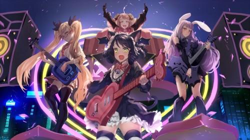 二次 非エロ 萌え 楽器 ヘッドフォン ギター 二次非エロ画像 guitar2015060916
