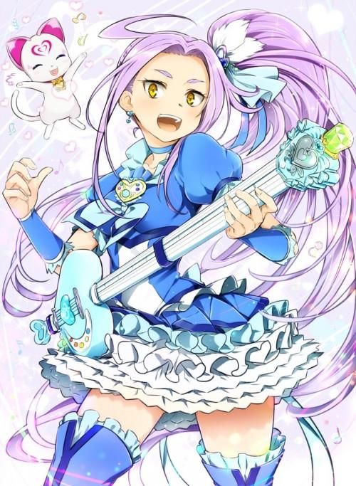 二次 非エロ 萌え 楽器 ヘッドフォン ギター 二次非エロ画像 guitar2015060925