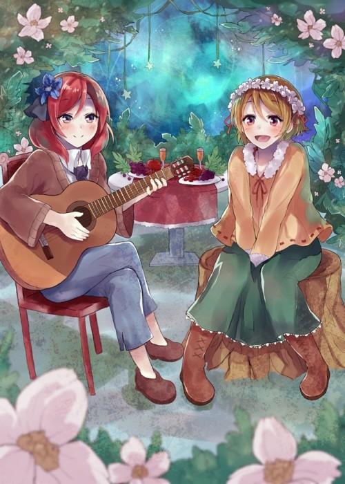 二次 非エロ 萌え 楽器 ヘッドフォン ギター 二次非エロ画像 guitar2015060926