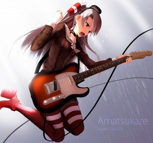 二次 非エロ 萌え 楽器 ヘッドフォン ギター 二次非エロ画像 guitar2015060929