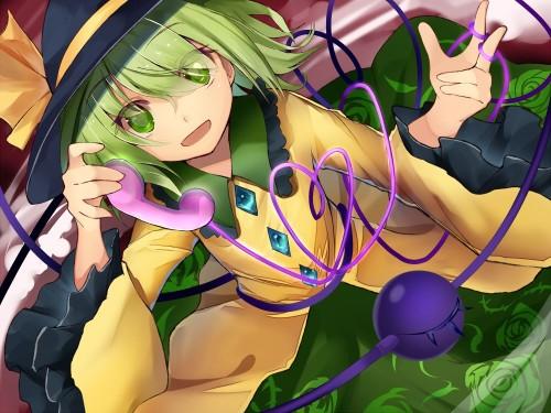 二次 エロ 萌え ゲーム 東方project 古明地こいし 緑髪 帽子 無意識を操る程度の能力 灰色の髪 グリコ 妹 二次エロ画像 komeijikoishi2015061312