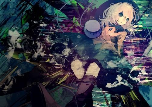 二次 エロ 萌え ゲーム 東方project 古明地こいし 緑髪 帽子 無意識を操る程度の能力 灰色の髪 グリコ 妹 二次エロ画像 komeijikoishi2015061325