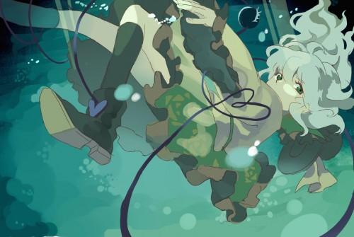 二次 エロ 萌え ゲーム 東方project 古明地こいし 緑髪 帽子 無意識を操る程度の能力 灰色の髪 グリコ 妹 二次エロ画像 komeijikoishi2015061328