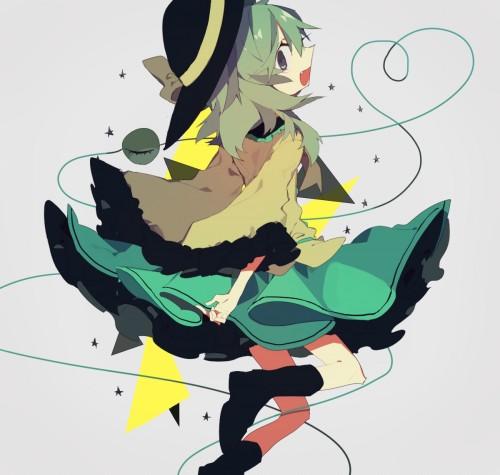 二次 エロ 萌え ゲーム 東方project 古明地こいし 緑髪 帽子 無意識を操る程度の能力 灰色の髪 グリコ 妹 二次エロ画像 komeijikoishi2015061340